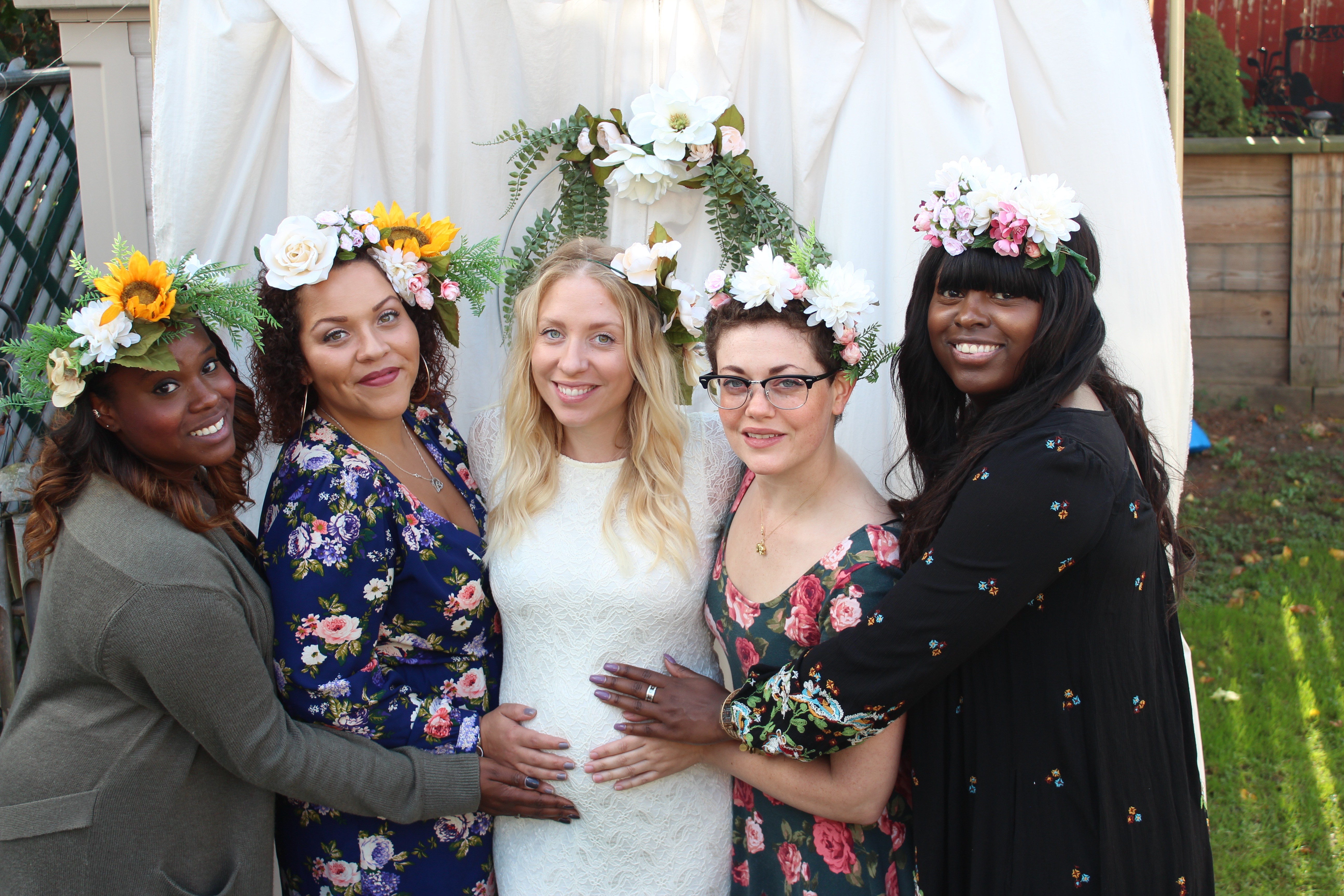 My Diy Baby Shower I Style Diy I Dont Think I Could Be Any Luckier Honestly